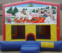 Christmas Panel Bounce House