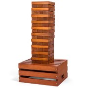 GIANT Wooden Tower Block Game