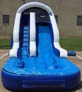 Backyard Party Water Slide Blue/White