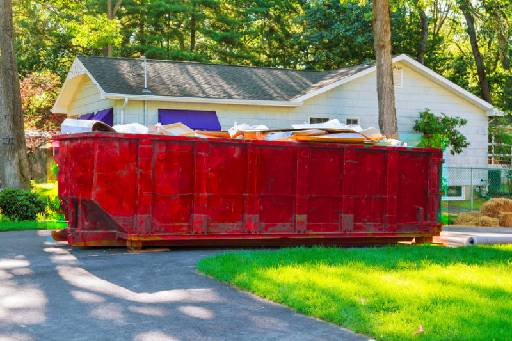 dumpster rental in Ackerly TX
