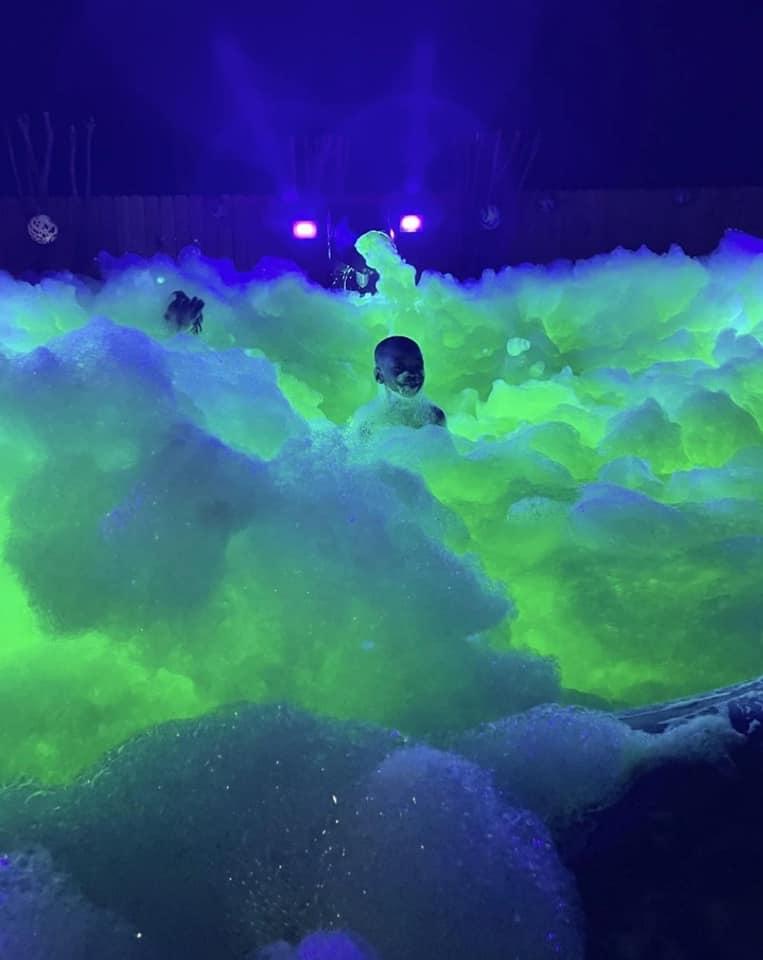 UV Glow Foam Night Parties In Houston!