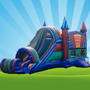Marble Bounce House Combo