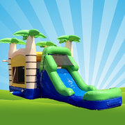 Tropical Bounce House Combo