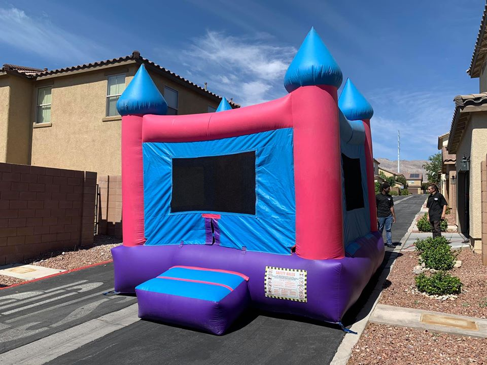Neutral Bounce House liberty party jumpers