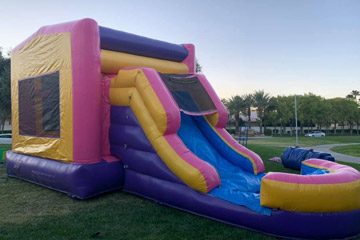 pink bounce house rental las vegas