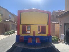 Module Bounce House Blue
