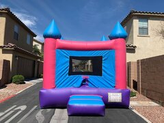 Neutral Castle Bounce House
