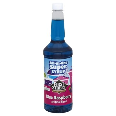 Syrup, Blue Raspberry (32 oz)