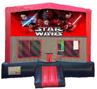 Star Wars Red/Black/Gray Module Bounce House