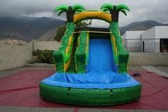 Big Fun 16 ' Tropical Water Slide
