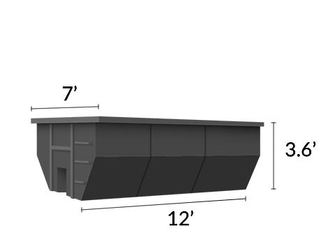 12 Yd Dumpster