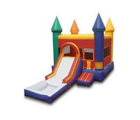 Backyard Castle Jump n Slide Dry (13x18)