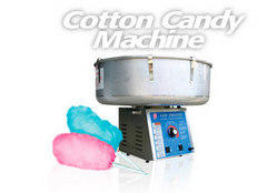 Cotton Candy Machine with 60 servings 1 carton sugar floss and paper cones