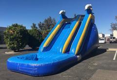 18ft Slippity Slide Dolphin Dry