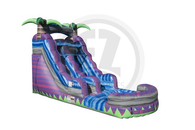 Purple Crush 15' Wet/Dry Slide