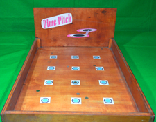 Dime Pitch Game