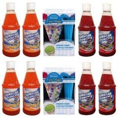 50 Additional Servings Sno Cone Supplies