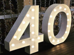 Marquee Letters & Numbers