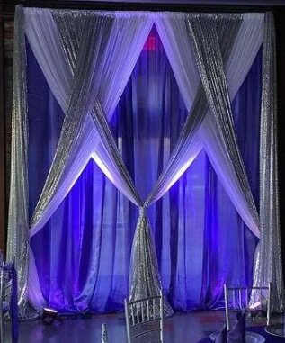 Custom Premier Pipe & Drape - 10ft Backdrop
