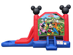 Mickey and Friends Waterslide - Wet or Dry