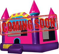 Large - Pink Modular Bounce Castle