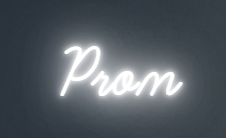 Prom - Neon Sign