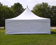 Solid - Tent Sidewall -20ft wide