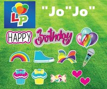 "Happy Birthday ""Jo"" ""Jo"" - Yard Card Greeting"