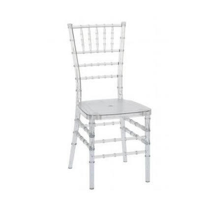 Clear Chiavari Chair Rental