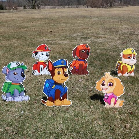 Paw Patrol Yard Signs