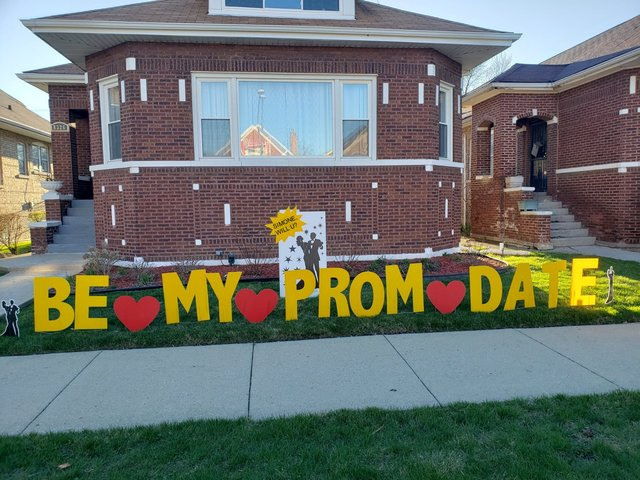 PromPosal Yard Signs
