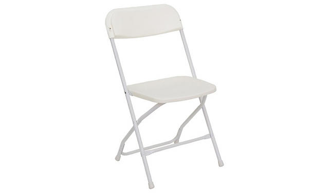 White Folding Chair Rentals
