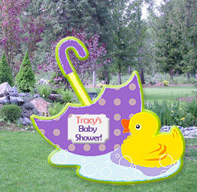 Baby Shower Yard Signs