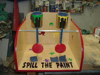 Spill the Paint Carnival Game Rental