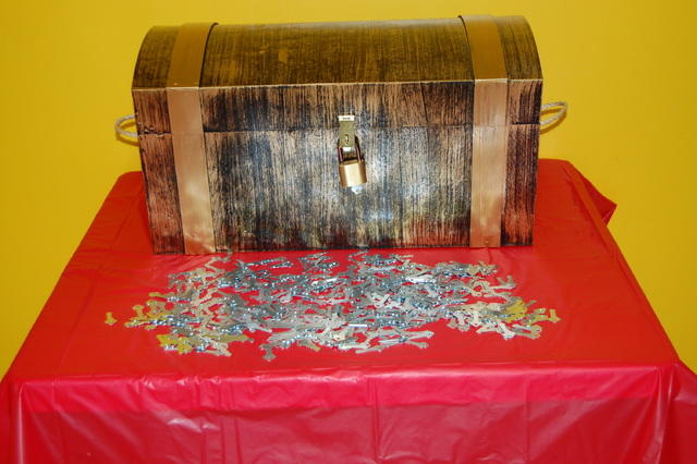 Treasure Chest Carnival Game Rental