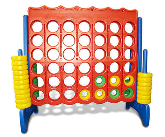 Giant Connect 4 Carnival Game Rental