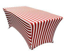 Carnival Striped Tables