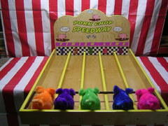 Pork Chop Speedway Carnival Game (4 pts)