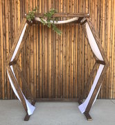 Hexagon Wood Arch