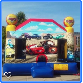 Disney Cars Bounce House Rentals Chicago