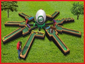 Inflatable Mini Golf