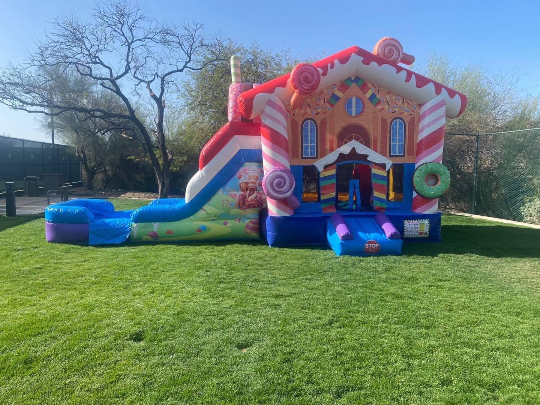 Candy Land Bounce House Rental Glen Ellyn