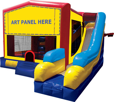 Bouncer with Slide Combo Rentals Elmhurst, IL