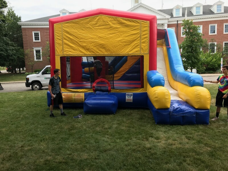 Bounce House with slide combo rentals Oak Park IL