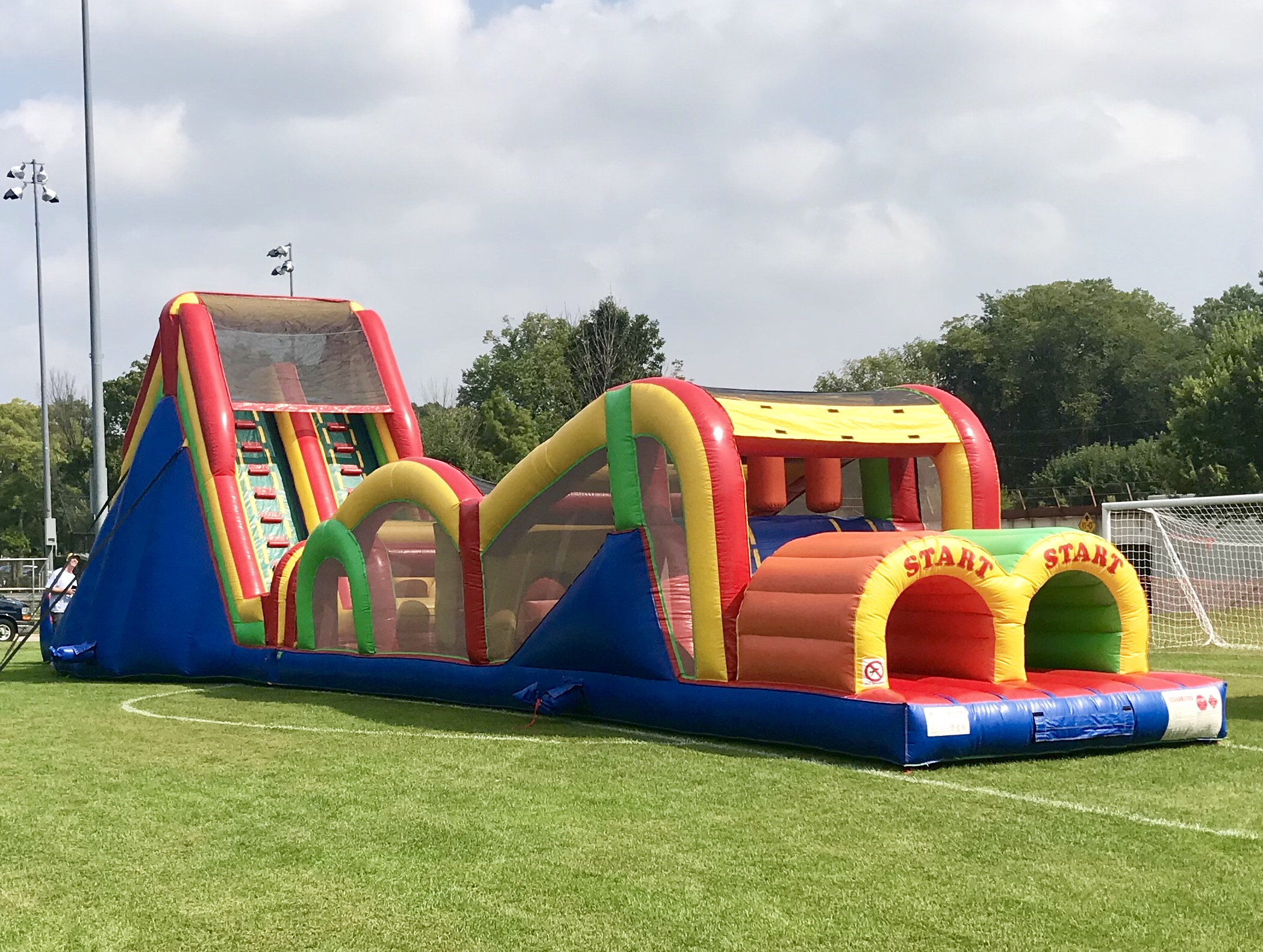 Obstacle Course Rentals Wheaton IL