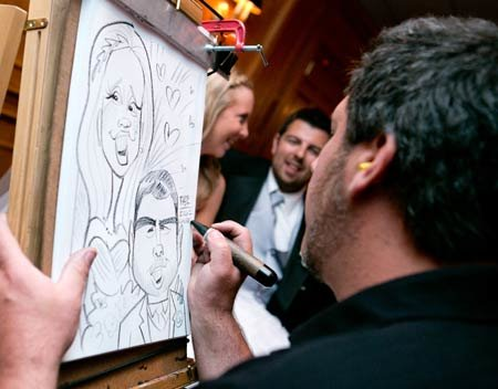 Caricature Artist 175.00 an hour 2 hour minimum