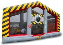 Atomic Cannon Ball Blaster Zone Inflatable Game Rental
