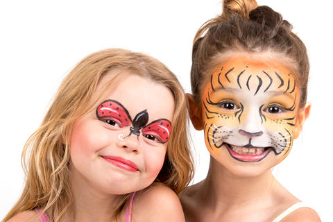 Face Painter 150.00 an hour 2 hour minimum 2 hour