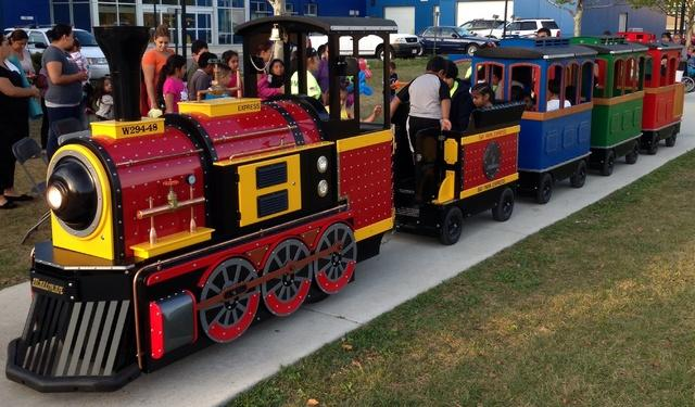Trackless Train 2 hours