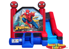Spider Man Bounce House with Slide